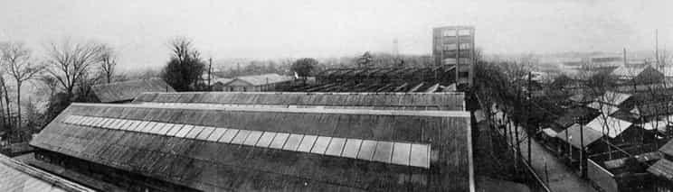 ساختمان کارخانه Oi Dai-ichi PlantOi Dai-ichi در سال 1921