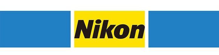 لوگو و طرح شرکت نیکون در سال 1988