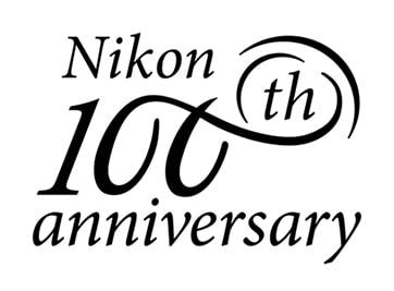 لوگو صد سالگی شرکت نیکون