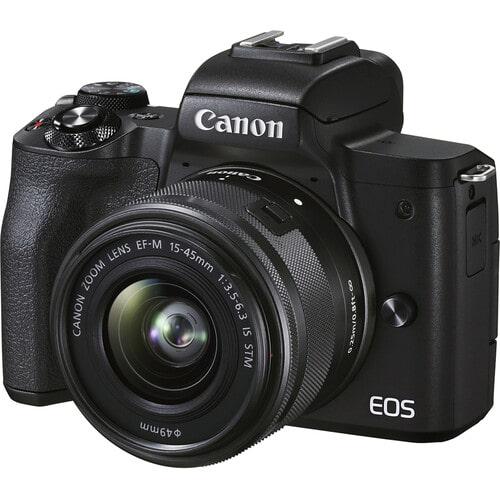 دوربین بدون آینه کانن Canon EOS M50 Mark II همراه لنز کانن EF-M 15-45mm