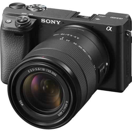 دوربین بدون آینه سونی آلفا Sony Alpha a6400 همراه لنز سونی E 18-135mm