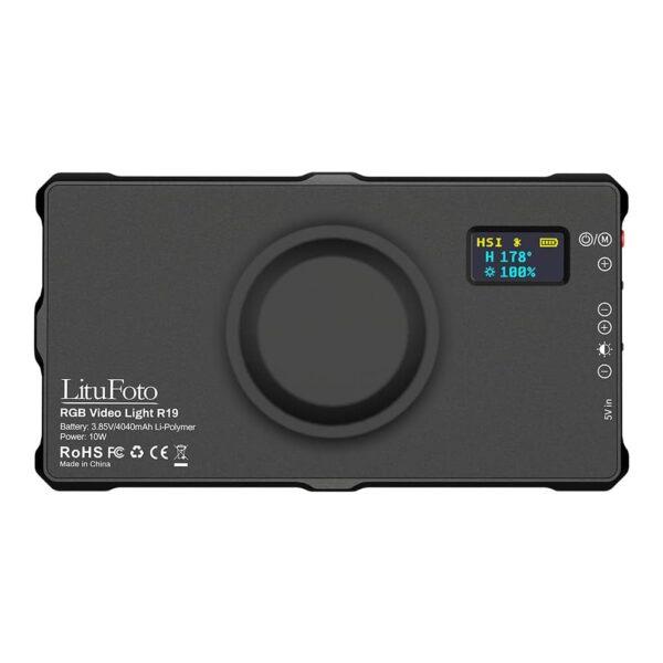 نور ثابت لیتو فوتو LituFoto RGB Video Light R19